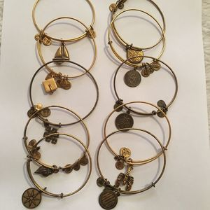 Alex And Ani bundle bracelets